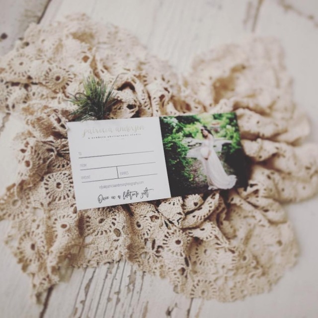 Pssst patriciaandersonphotography gift cards make great gifts!