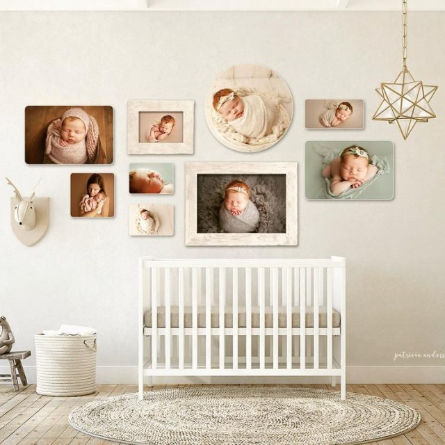 Loving this nursery photoblock design for a recent client!! printyourphotoshellip